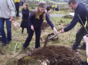 School Kids Tree Planting